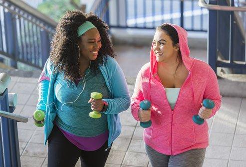 ออกกำลังกายคนอ้วน